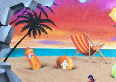 Vægmaleri for Suntop