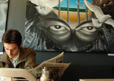 The mental prison café