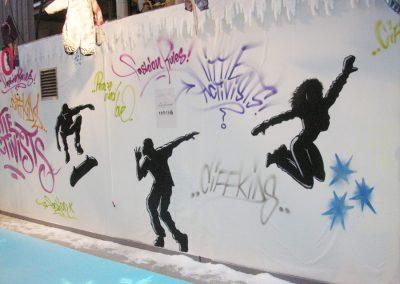 bella center graffiti