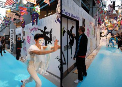 bella center graffiti udsmykning
