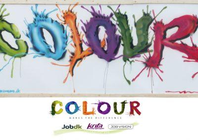 colour graffiti udsmykning