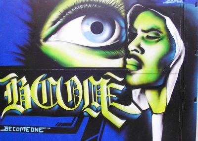 graffiti det fri gymnasium