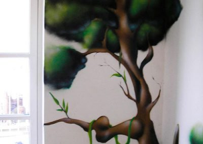 graffiti træ