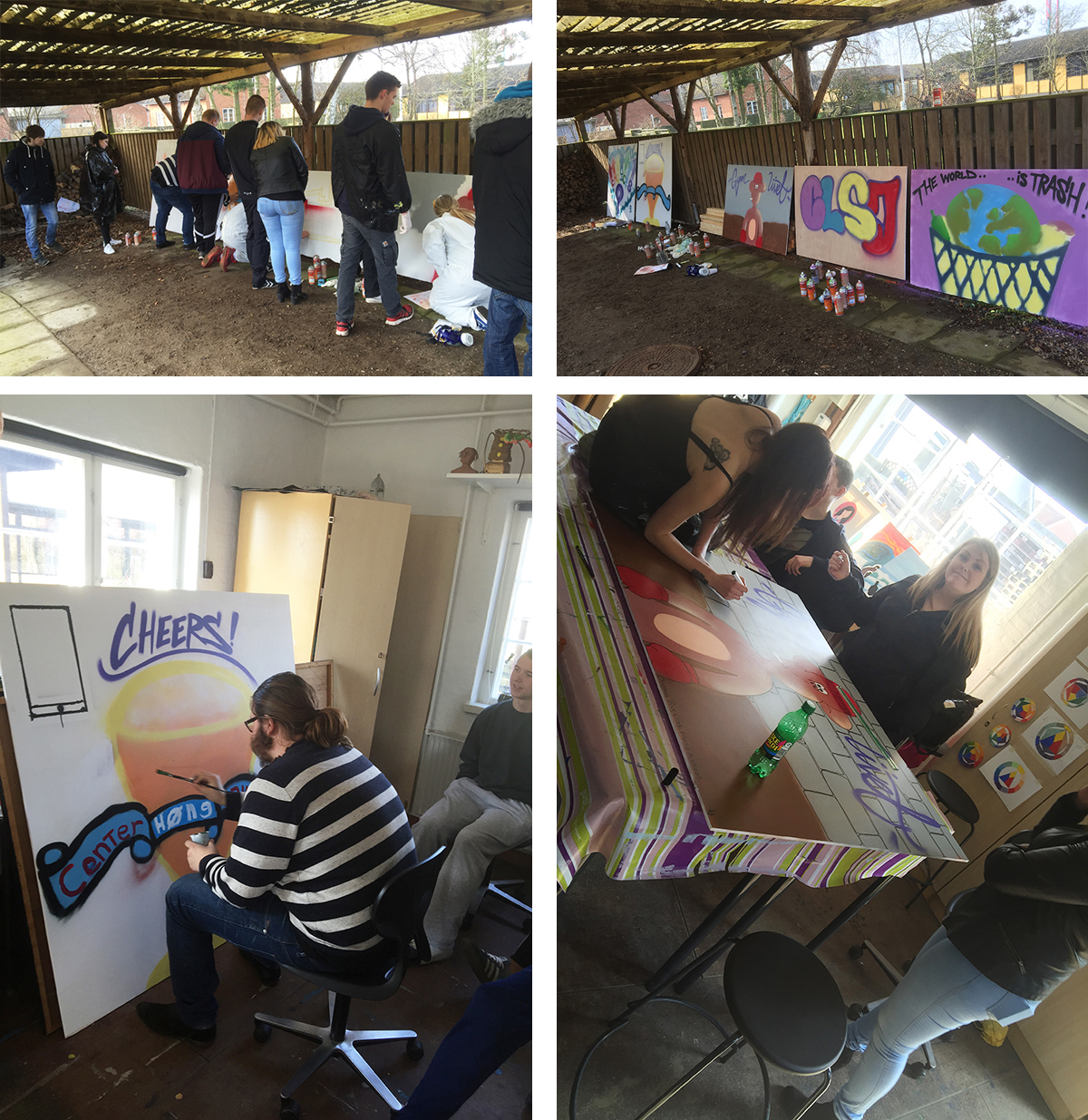 graffiti workshop skole