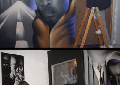 studio graffiti udsmykning
