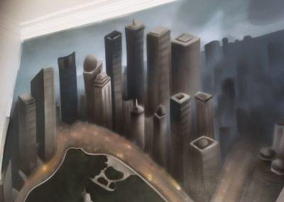 vægmaleri-closeup