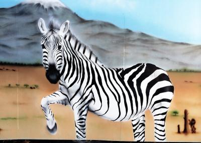 Vægmaleri afrika