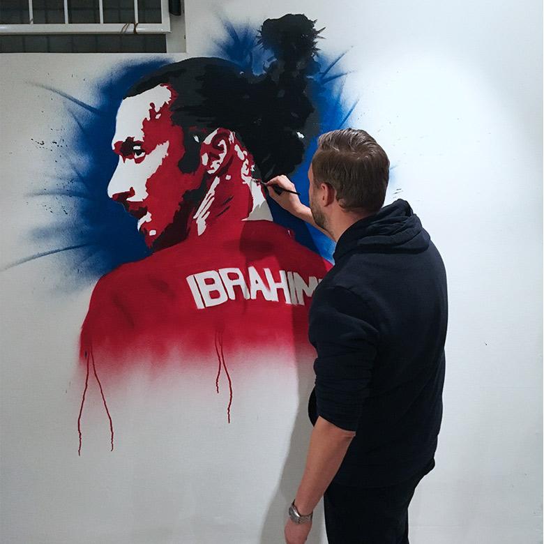 graffiti kunstner