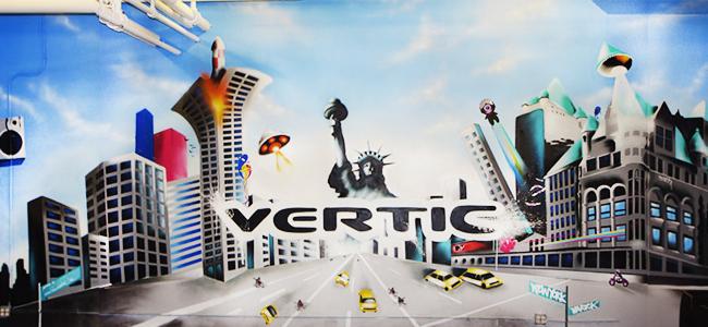 new york vægmaleri