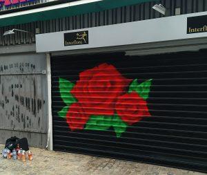 graffiti på bestilling