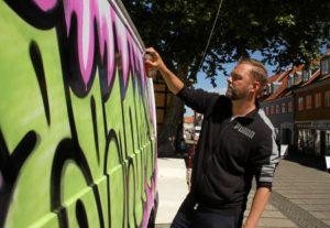 becomeone graffiti kunstner