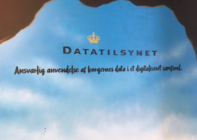 vægmaleri datatilsynet