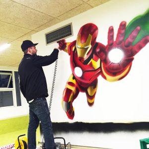 Graffiti kunst på bestilling